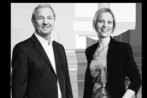 Geschäftsführung bei Wohn Schick - Judith und Hubert Schick