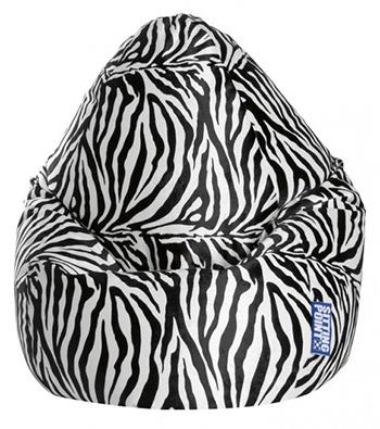 Afro XL Zebra Sitzsack