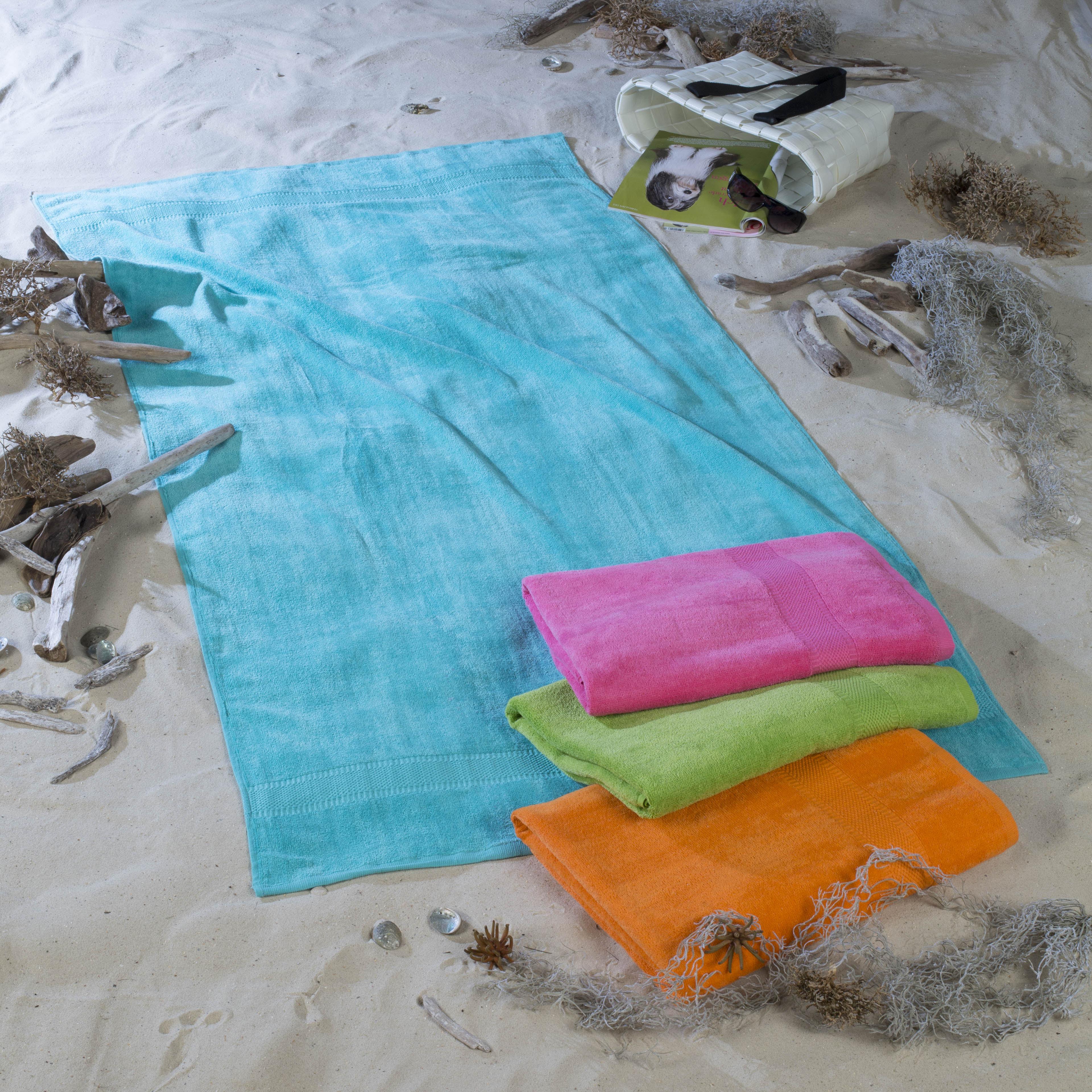 Strandtuch Velour