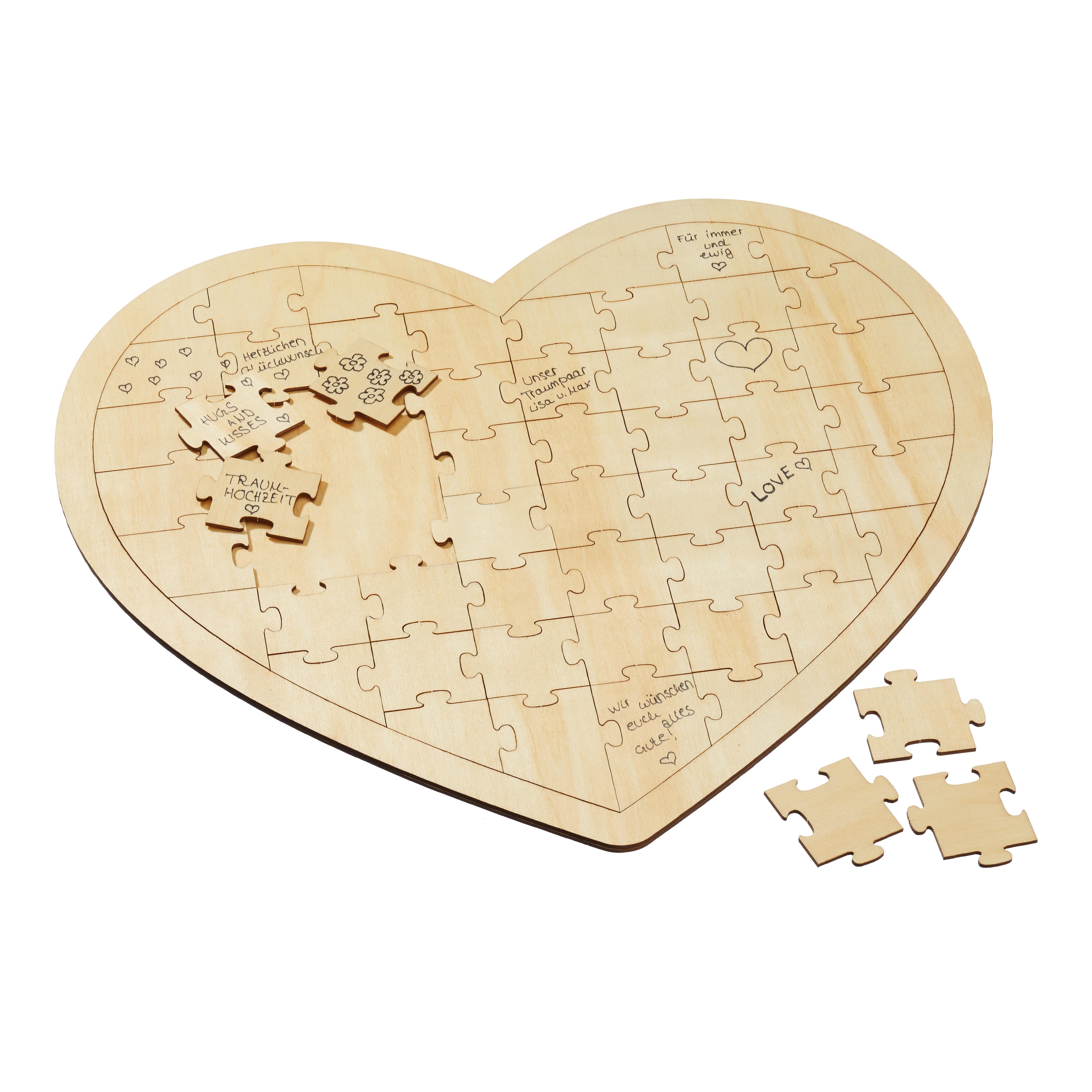 Wunschherz Puzzle