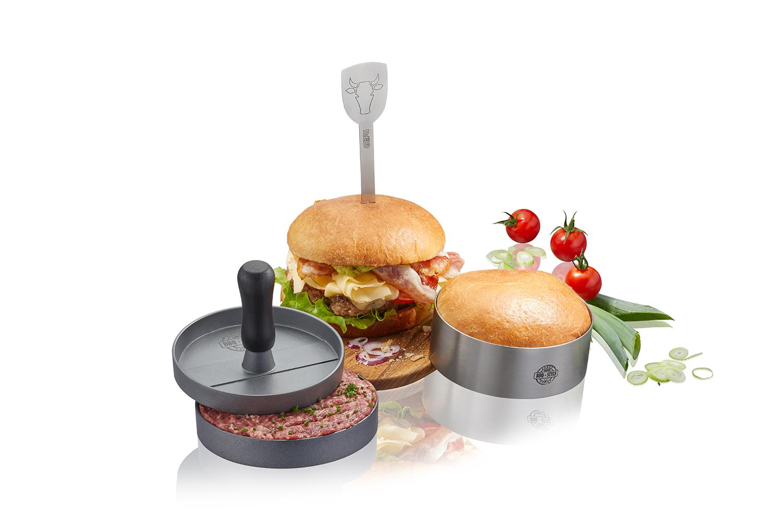 BBQ Burger-Set 3-teilig