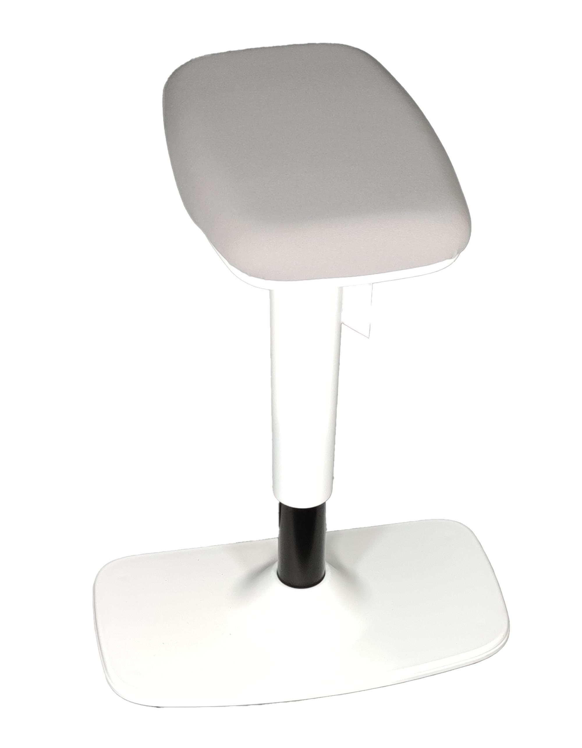 TIMMI WHITE Steh-Sitzhocker