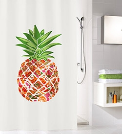 Duschvorhang Pineapple